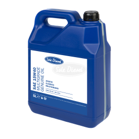 Multigrade oil specially designed for marine diesel engines and generators.