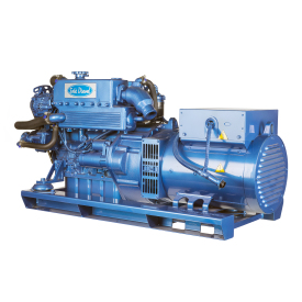The G-25M-3 is one of the Solé Diesel marine generator of 3000 rpm range which means compact size.