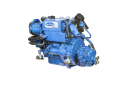 The MINI-33 is a diesel engine for boat with Mitsubishi base, 3 cylinders, mechanical injection and 1.318 cc.-2