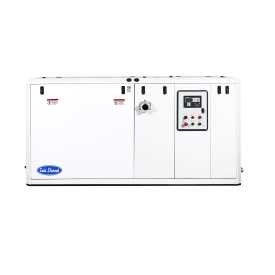 The marine generator set 180 GTA/GTAC is the newest in Solé Diesel's range This is a three phases marine generator set assembled on a 6 cylinder  turbo intercooler DEUTZ engine block, that performs 144,0 kW - 180,0 kVA at 1800 rpm and 60 Hz.