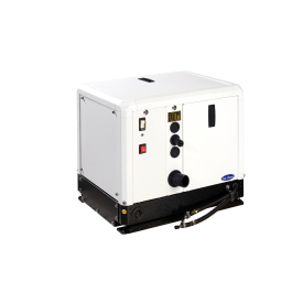 The 4 GSCH model is an ultra-compact genset for either sailboats or motorboats.